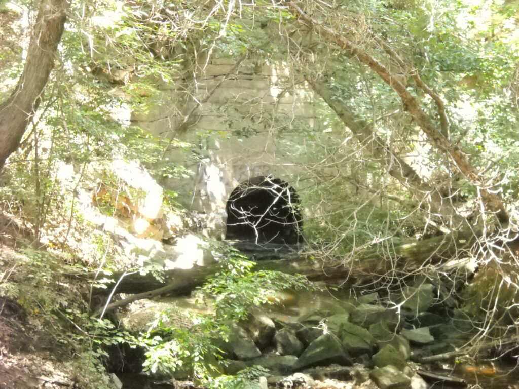 Culvert for First Railroad in Virginia