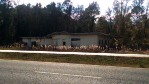 Abandoned Service Station, Kings Highway/Rt. 1, Callahan, Florida