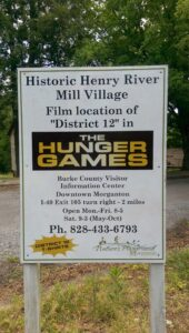Hunger Games District 12 / Henry River Mill Village Ghost Town